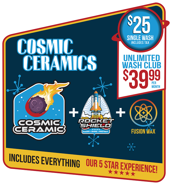 Cosmic Ceramic car wash